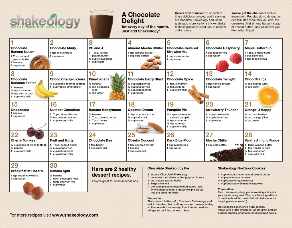 health recognition calendar for 2013 | just b.CAUSE