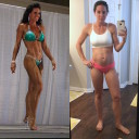 My Reverse Transformation 1 Month After Fitness Competition